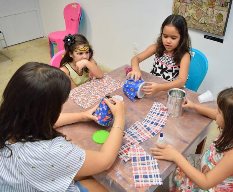 Montmartre promove oficina de arte com muita diversão para crianças