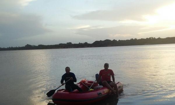 Corpo de homem é encontrado preso em galhos no Rio Parnaíba