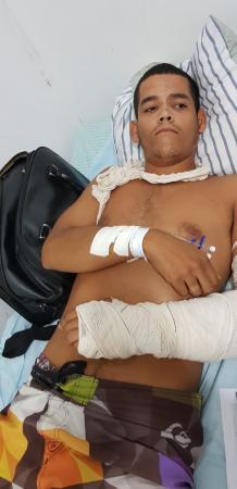 Jovem procurado por homicídio é preso ao ser hospitalizado no Piauí