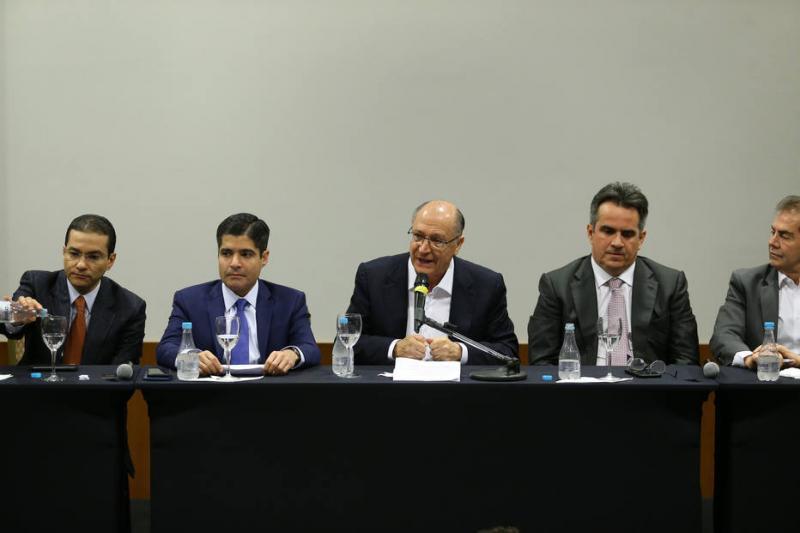 Alckmin se reúne com Roberto Jefferson após receber apoio do Centrão