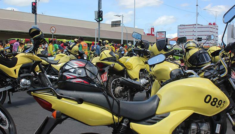 Prazo para renovação de alvará de mototaxistas é ampliado