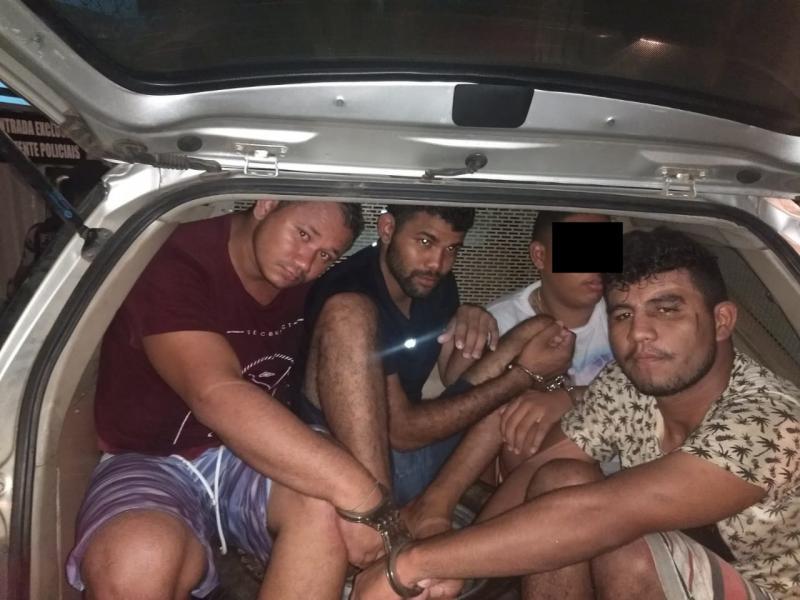 Polícia prende suspeitos de assaltos na zona Norte