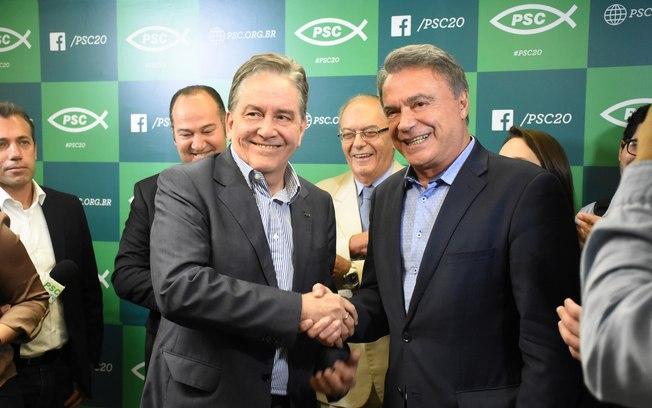 Com vice do PSC, Alvaro Dias é lançado candidato à presidência da República