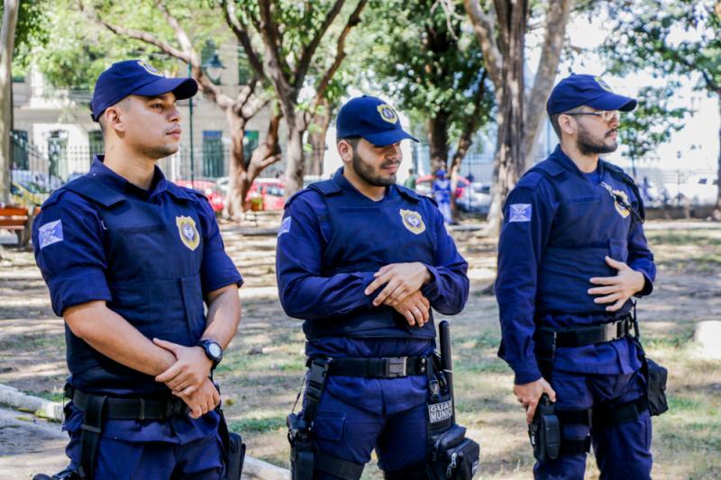 Guarda Municipal de Teresina aumenta efetivo no Parque Cidadania