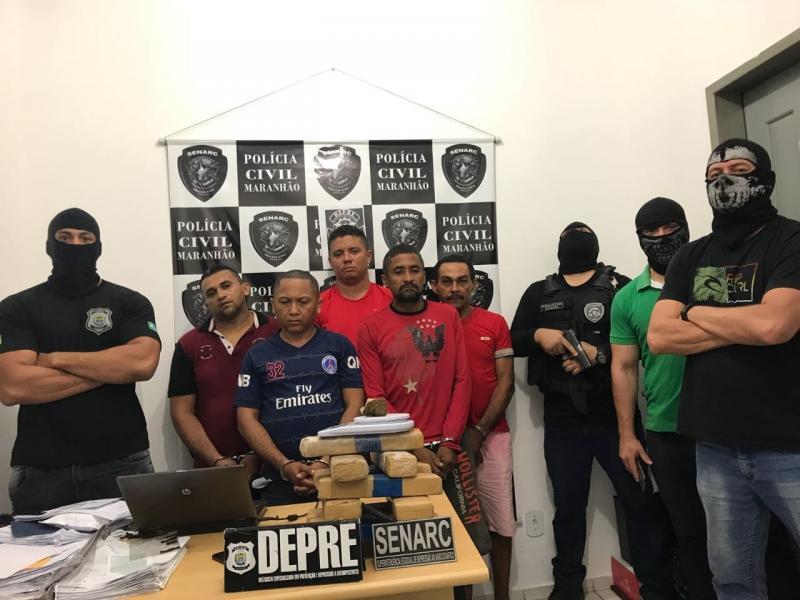 Operação prende empresário e mais nove pessoas suspeitas do crime de tráfico de drogas