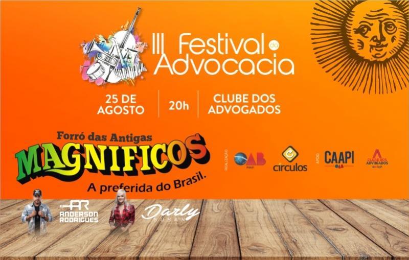 Banda Magníficos será atração nacional do Festival da Advocacia 2018