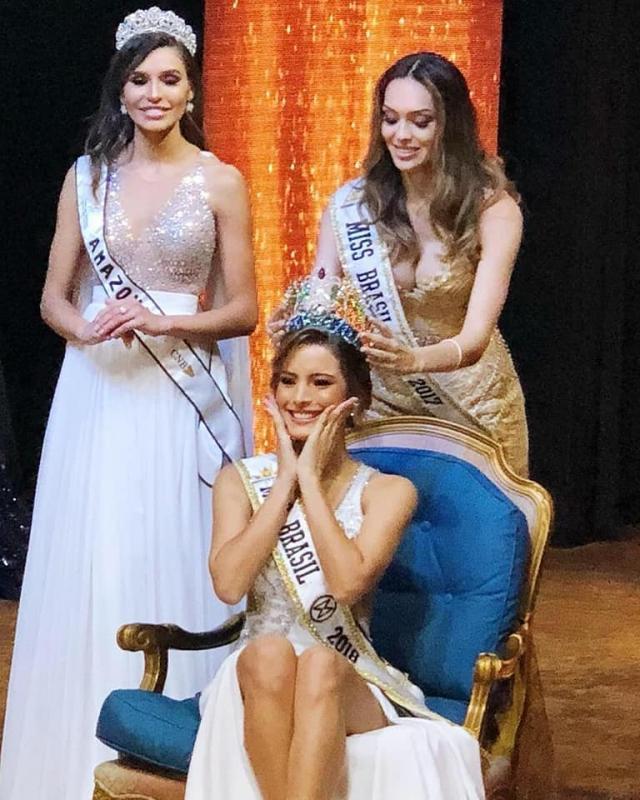 Jéssica Carvalho Miss Piauí CNB  é a nova Miss Brasil Mundo 2018