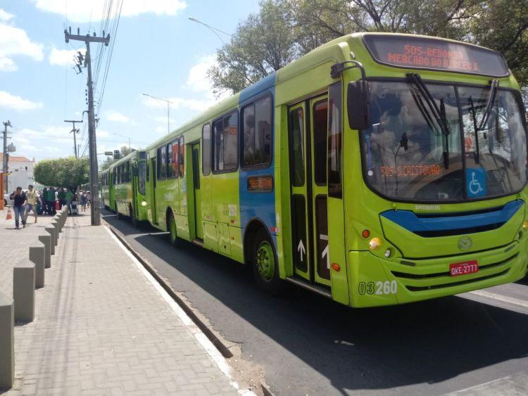 Frota de ônibus de Teresina será reduzida 20% na sexta-feira