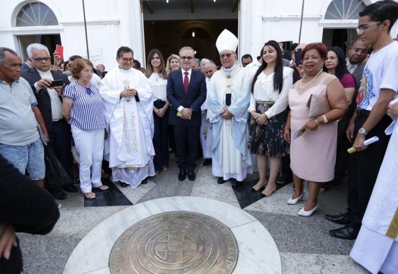 Aniversário: missa e inauguração do marco zero de Teresina reúne autoridades