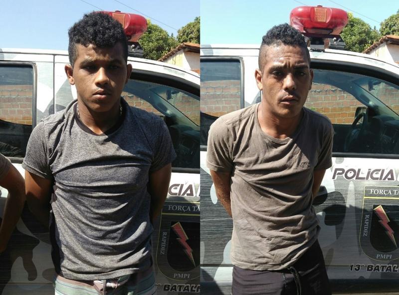 Dois suspeitos foram presos com moto roubada na Santa Maria da Codipi