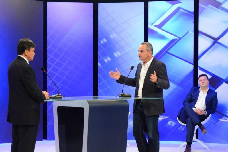 Candidato Valter Alencar participa de debate na televisão e denuncia corrupção no Estado e insegurança