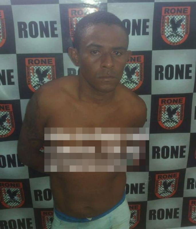 Homem é preso acusado de roubar motocicleta no bairro Poty Velho