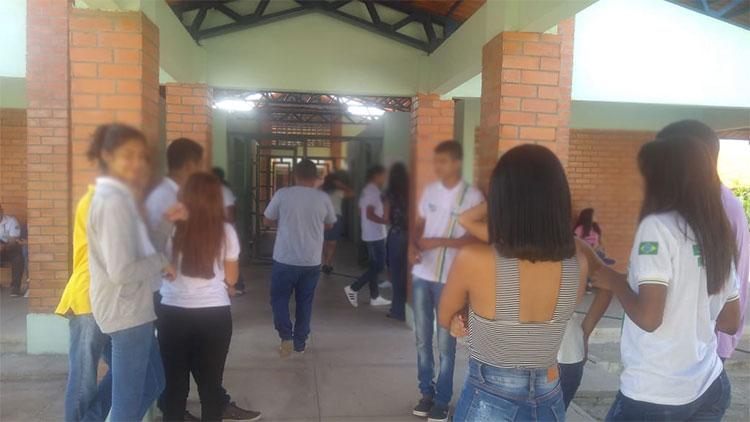 Bandidos agridem vigias e fazem arrastão em escola na zona Leste de Teresina