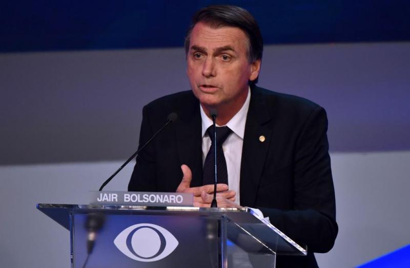 Candidato a presidente, Jair Bolsonaro não irá mais participar dos debates