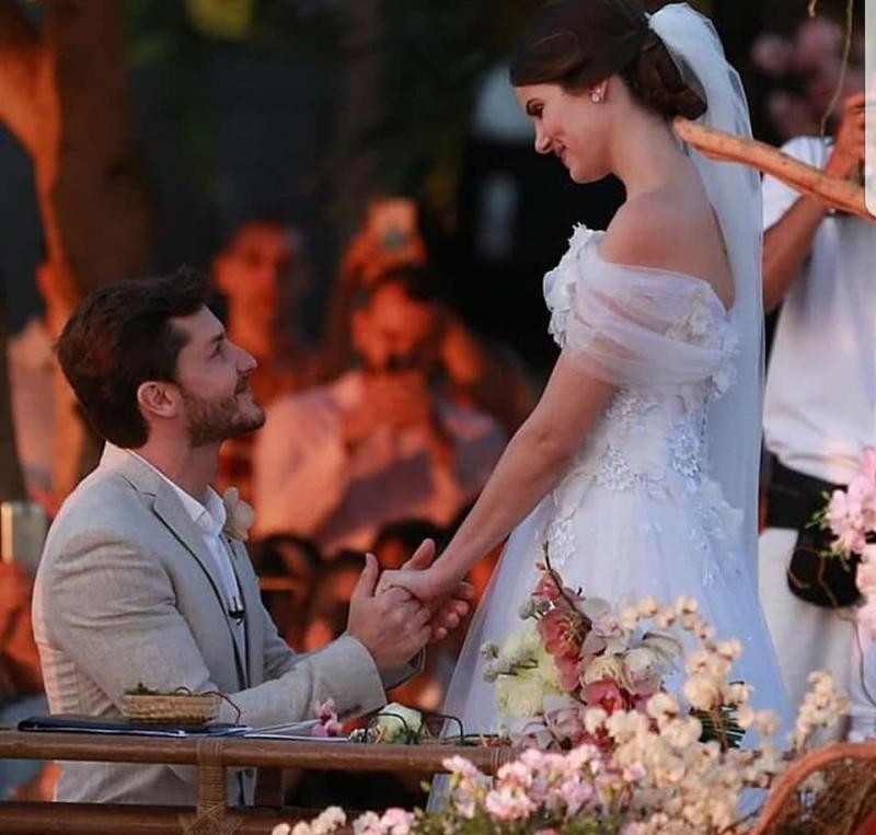 Casamento Camila Queiroz e kleber Toledo