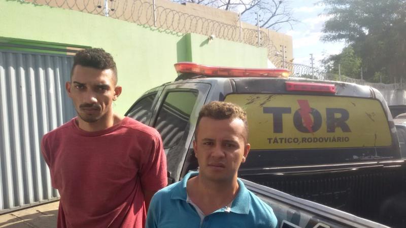 Dupla é presa suspeita de realizarem assaltos na zona Norte de Teresina