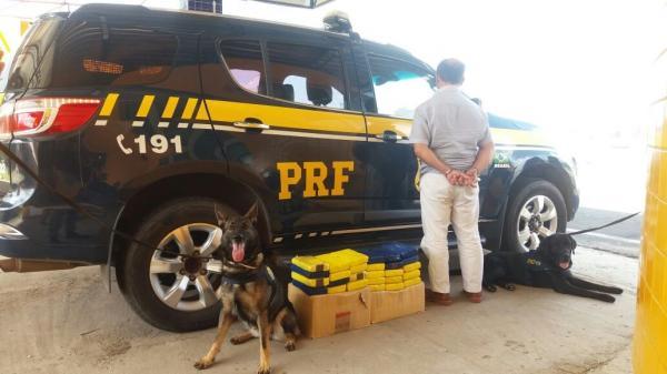 Homem é preso transportando cocaína em rodovia do Piauí