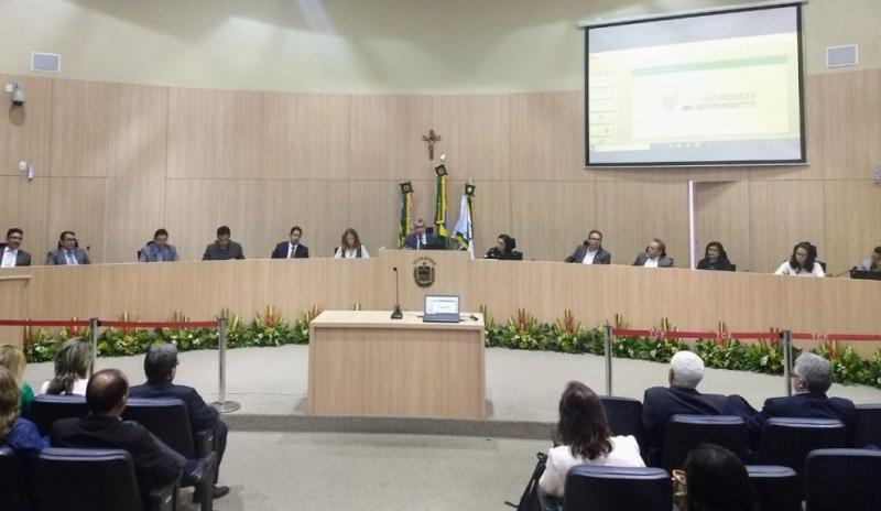 TCE discute sobre adesão dos servidores do Piauí à Fundação de Previdência da Bahia