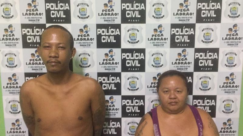 Casal é preso por tráfico de drogas no Parque Brasil