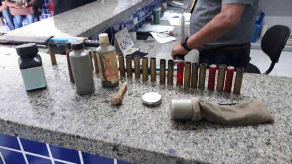 Caçadores são preso com animais silvestres e armas no Norte do Piauí