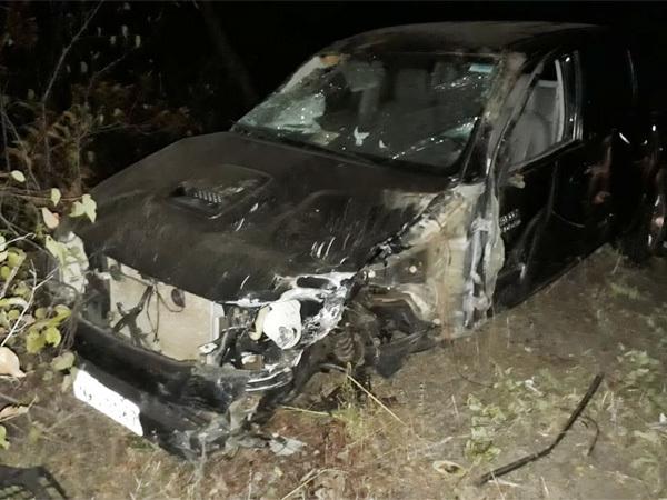 Jovem fica gravemente ferido em acidente com dois veículos na PI-115