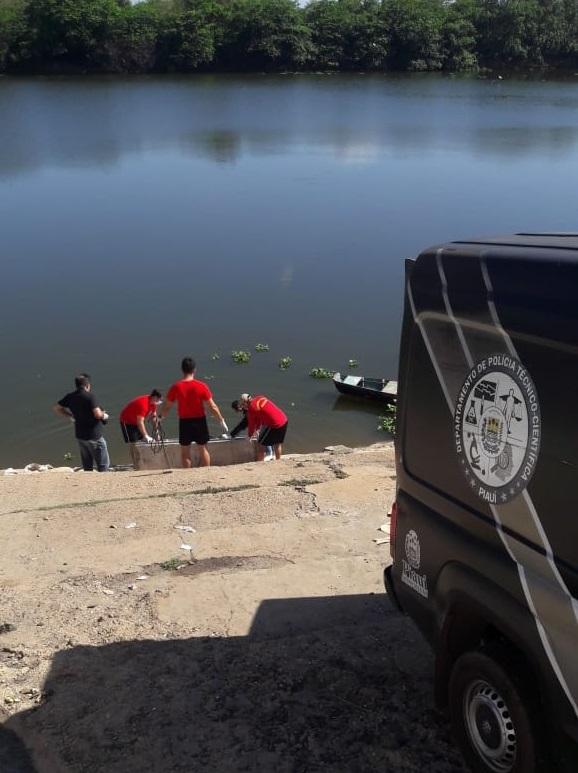 Corpo de jovem é encontrado no Rio Poti em Teresina