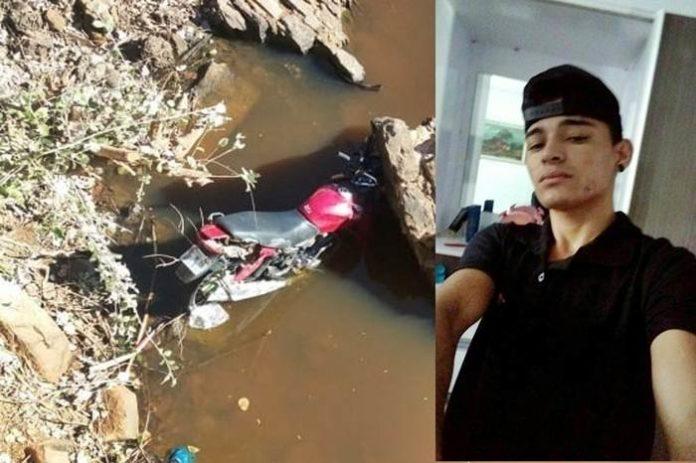 Jovem morre depois de cair com a moto em cidade do Piauí