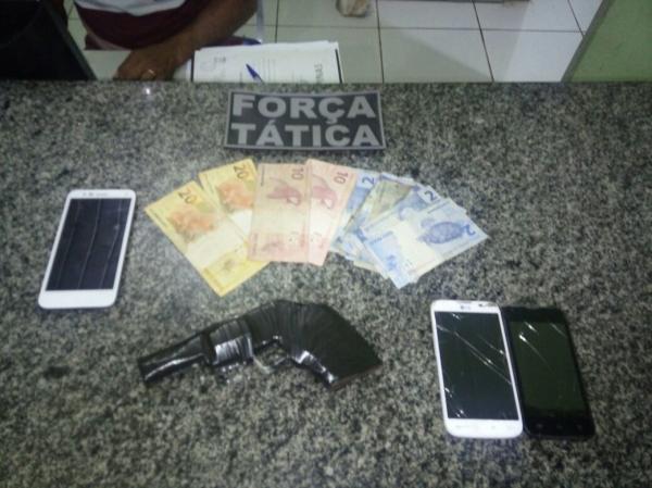 Força Tática prende assaltantes de Posto de Combustível no Piauí