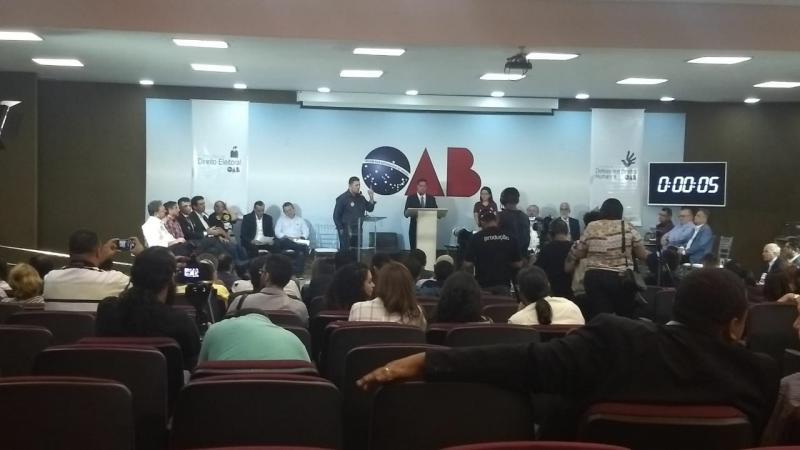 Clube Notícias realiza a cobertura ao vivo do debate com os candidatos ao Senado no Piauí