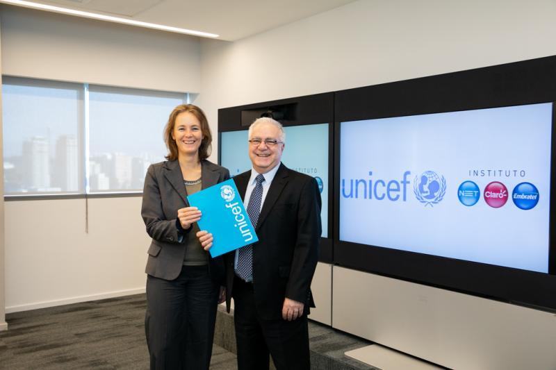 Instituto NET Claro Embratel se une ao UNICEF no combate ao atraso escolar