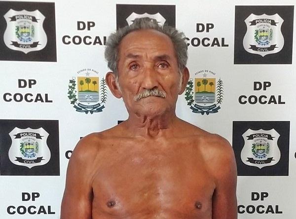 Idoso é preso acusado de estuprar duas bisnetas no interior do Piauí