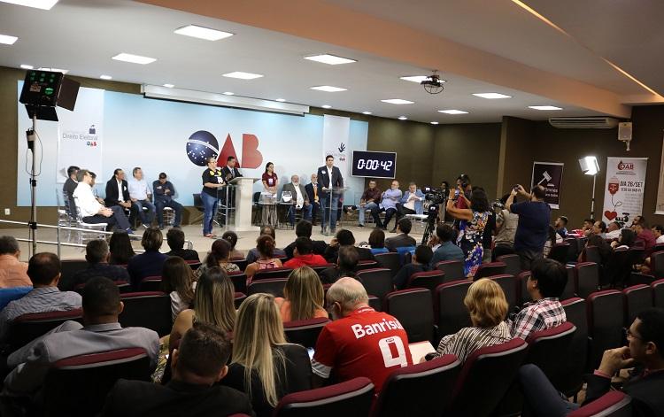 OAB Piauí realiza hoje debate entre candidatos ao Governo