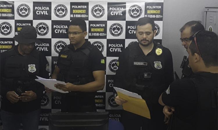 Polícia cumpre mandados na segunda fase da operação Sentinela