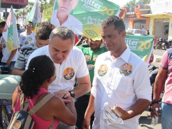 Sem emprego, famílias estão se tornando ambulantes no Mercado Municipal de Campo Maior