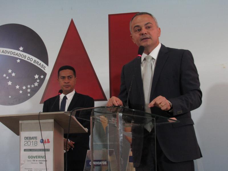 Debate da OAB-PI é marcado por clima amistoso entre os candidatos