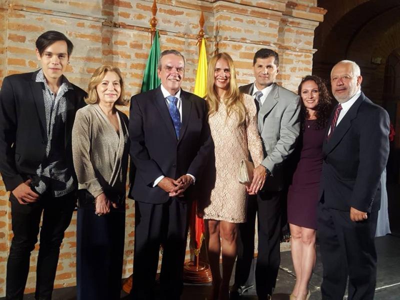 Comunidade brasileira celebra sete de setembro no Centro de Arte Contemporânea em Quito
