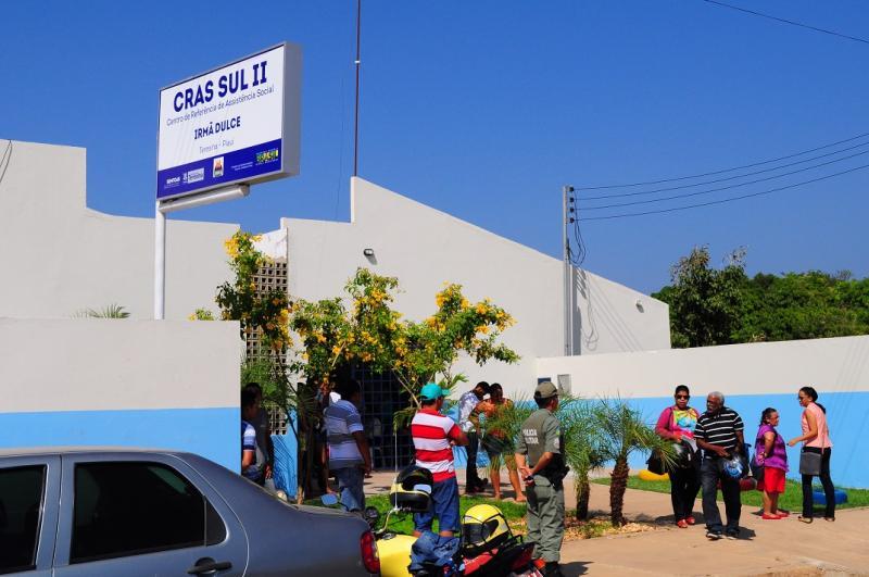 Dupla realiza arrastão dentro de Cras da Prefeitura de Teresina