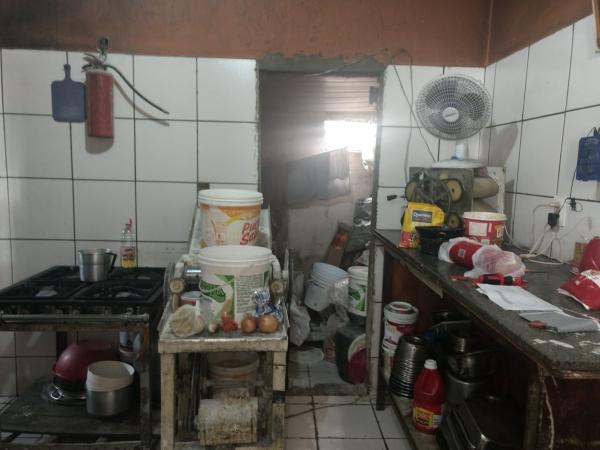 Vigilância Sanitária interdita padaria na zona Norte de Teresina