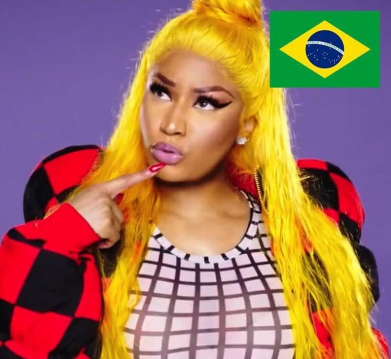 Nicki Minaj faz show no Brasil!