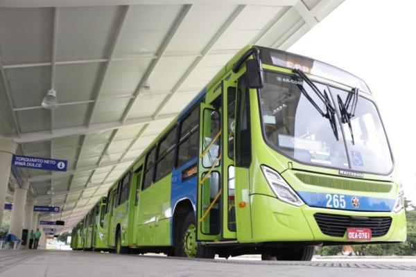 Teresina recebe 40 novos ônibus para o sistema de integração