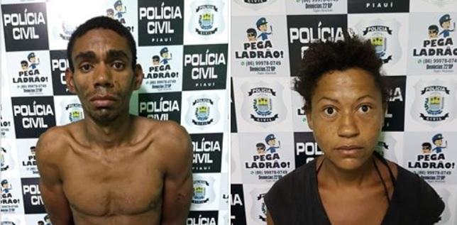 Casal suspeito de vários furtos é preso após investigação na Zona Norte