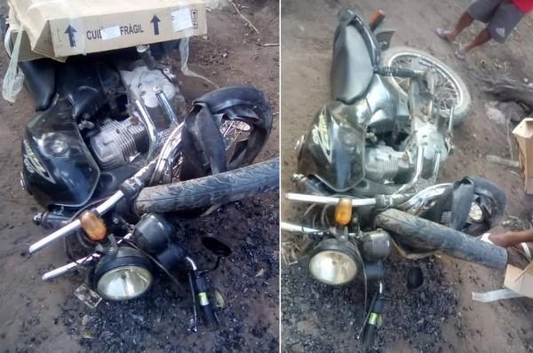Motociclista morre após colidir em poste em rodovia no interior do Piauí