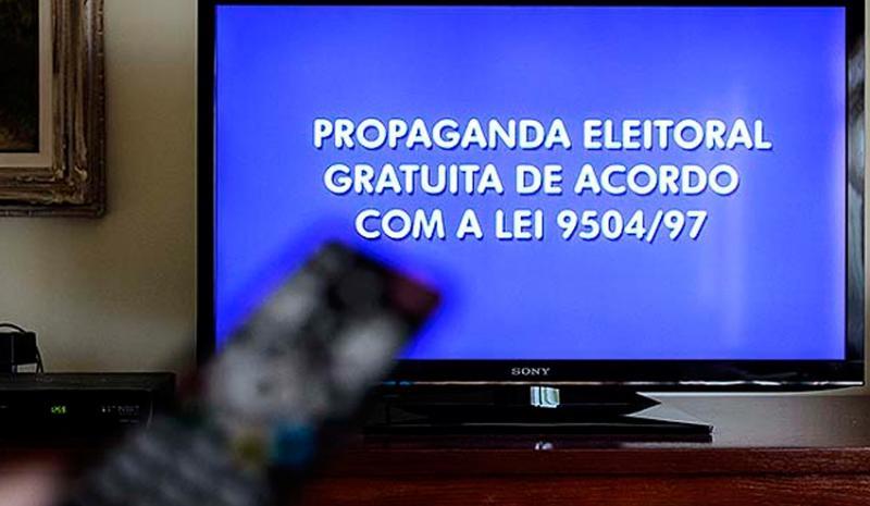 Horário eleitoral na TV encerra hoje