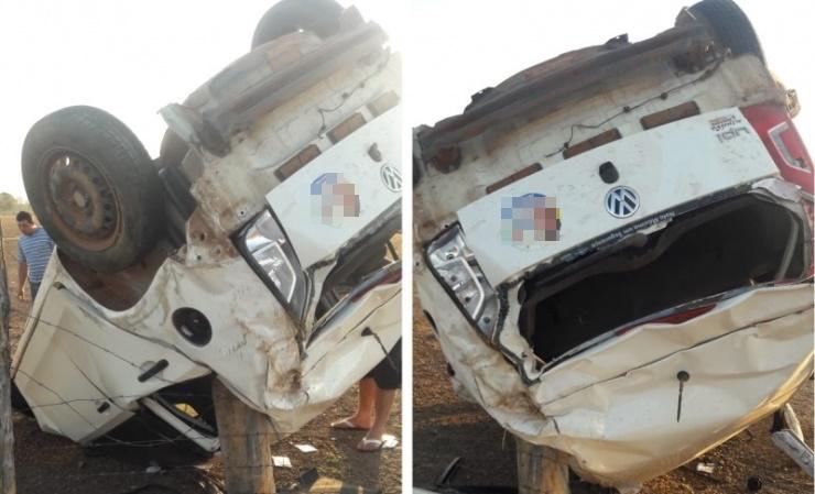 Suplente de vereador e secretário sofrem acidente na PI-115