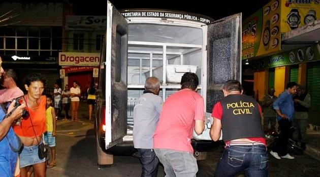 Bandido é morto a tiros depois de assalto em Parnaíba