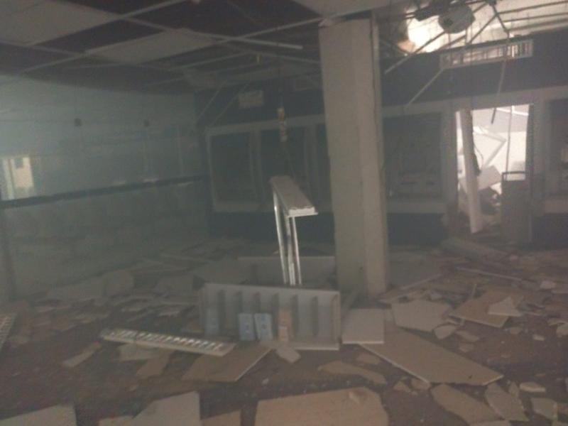 Bandidos explodem agência da Caixa em Timon