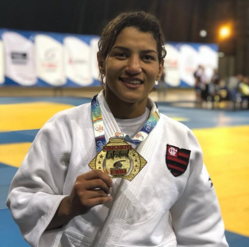 Sarah Menezes conquista medalha de bronze no Brasileiro sênior de judô