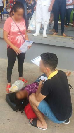 Mulher cai de plataforma de Terminal no primeiro dia de funcionamento da Integração em Teresina