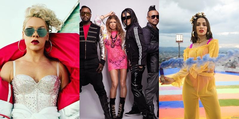Confirmado! Pink, Black Eyed Peas e Anitta estarão no mesmo palco no Rock in Rio!!