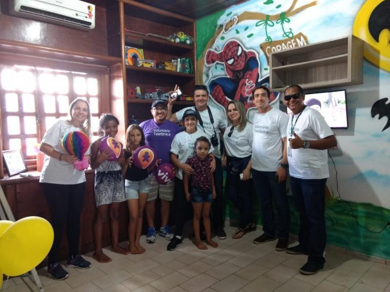 Dia dos Voluntários leva ações e benefícios à Associação Esperança e Vida